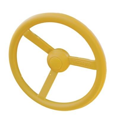 Swing-N-Slide Toy Steering Wheel - Yellow