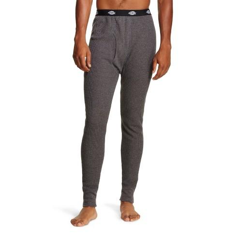 Dickies Men's Waffle Thermal Pants Charcoal M - image 1 of 1