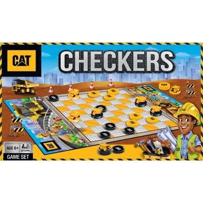 MasterPieces Caterpillar Checkers Board Game