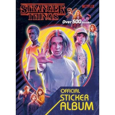 Stranger Things: The Official Sticker Album (Stranger Things) - by  Random House (Paperback)