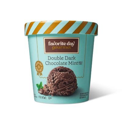 Dark Chocolate Mint Ice Cream - 16oz - Favorite Day™