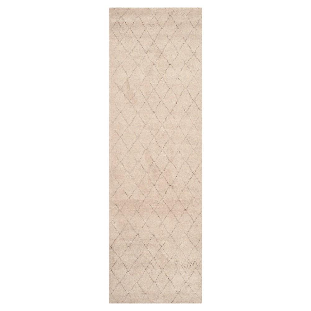 Tunisia Rug - Ivory - (2'6x12') - Safavieh