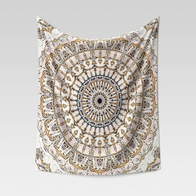 Medallion Printed Tapestry Yellow - Opalhouse™