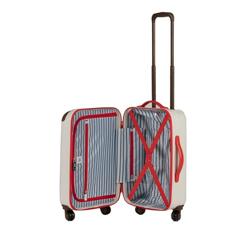 love taza 20 hardside spinner suitcase cream target