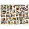 Eurographics Inc. Wildlife Vintage Stamps 500 Piece Jigsaw Puzzle - image 3 of 4