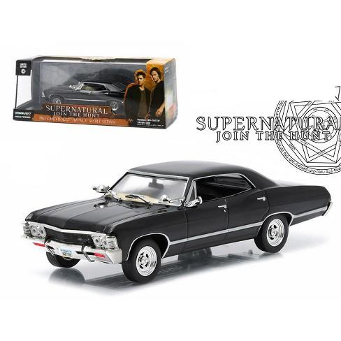 "1967 Chevrolet Impala Sports Sedan ""Supernatural"" (TV Series 2005) 1/43 Diecast Model Car by Greenlight - image 1 of 4"