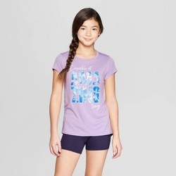 6dd2bf1e Girls' Capable Of Amazing Things Graphic Tech T-Shirt - C9 Champion® Light