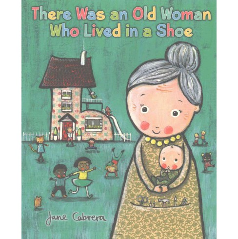 There Was an Old Woman Who Lived in a Shoe (Reprint) (Paperback) (Jane Cabrera) - image 1 of 1