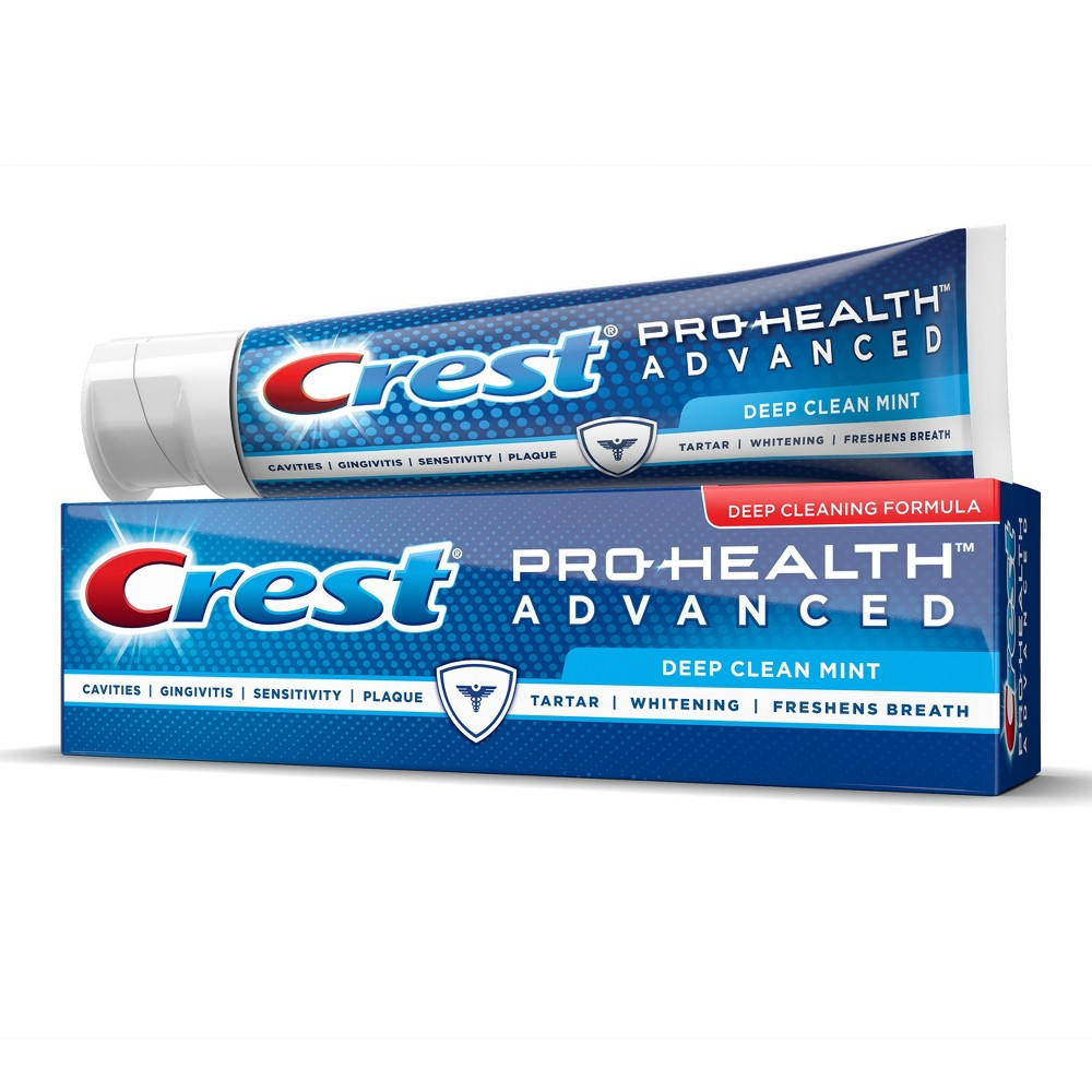 Crest Pro-Health Multi-Benefit Advanced Deep Clean Mint Toothpaste - 5.1oz