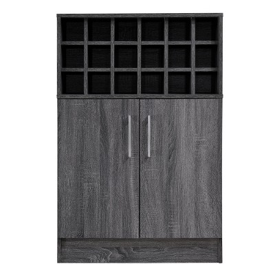 Roula Mid Century Wine and Bar Cabinet - Christopher Knight Home