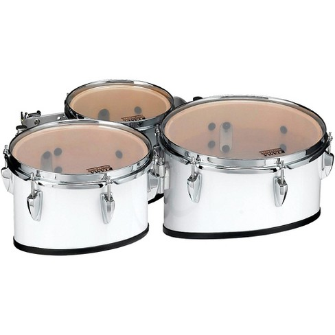 Tama Marching Starlight Marching Tenor Drums Trio 8, 10, 12 in. Sugar White - image 1 of 1