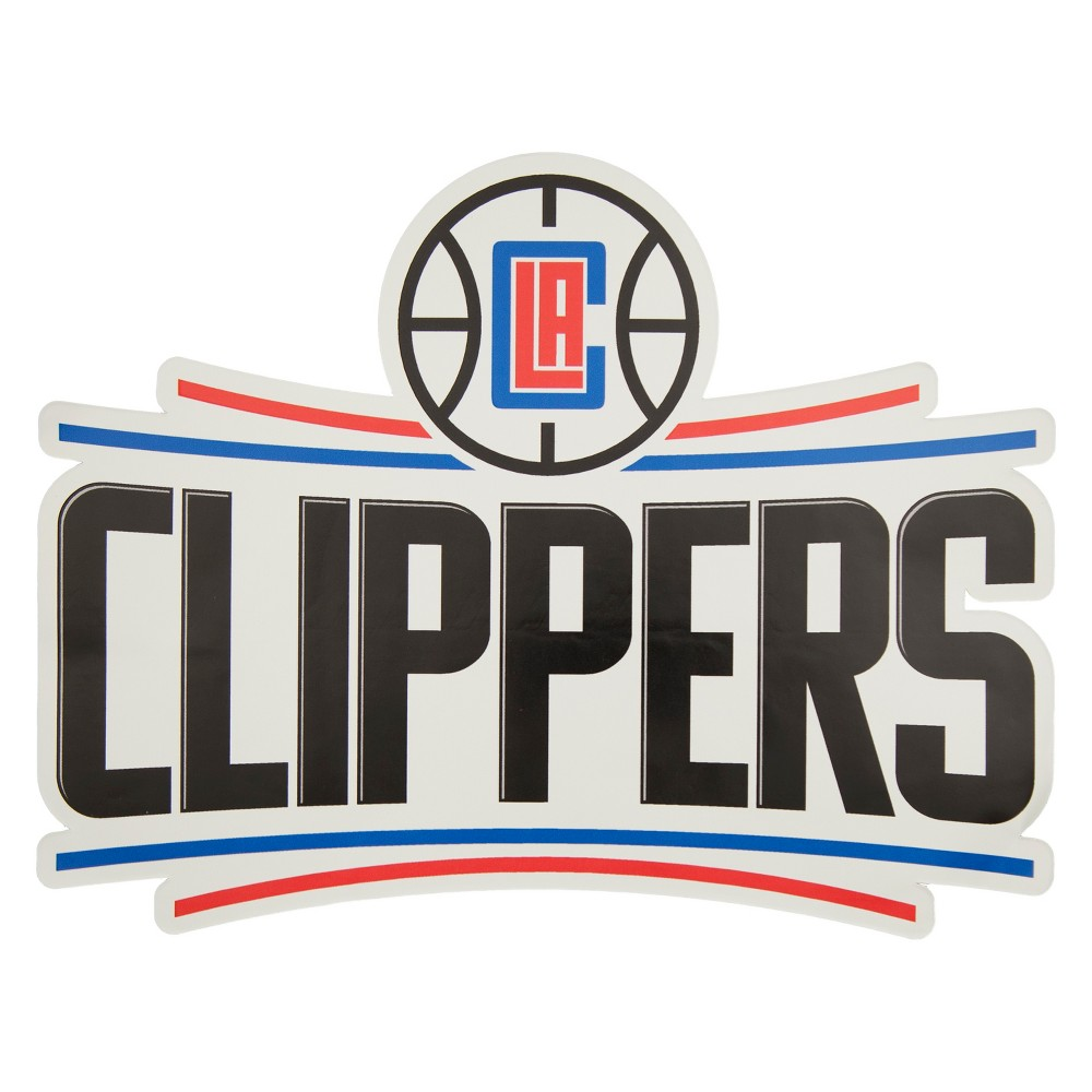 NBA Los Angeles Clippers Small Outdoor Logo Decal