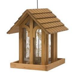 "12"" Mountain Chapel Wild Bird Wood Feeder - Perky-Pet"