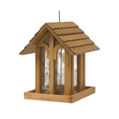 "12"" Mountain Chapel Wild Bird Wood Feeder - Perky-Pet - image 1 of 4"
