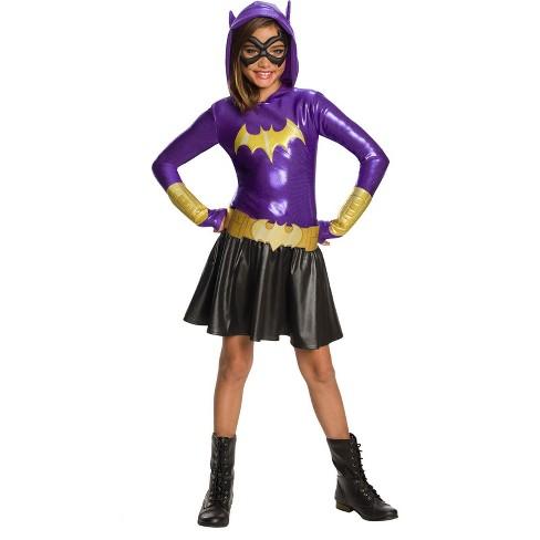 DC Super Hero Girls' Batgirl Hoodie Dress Halloween Costume - Rubie's - image 1 of 1