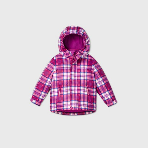 Toddler Girls' Plaid 3-in-1 Jacket - Cat & Jack™ - image 1 of 2