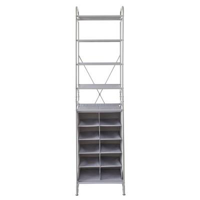 Neatfreak Versa System 10 Cubbies 5 Shelves Gray