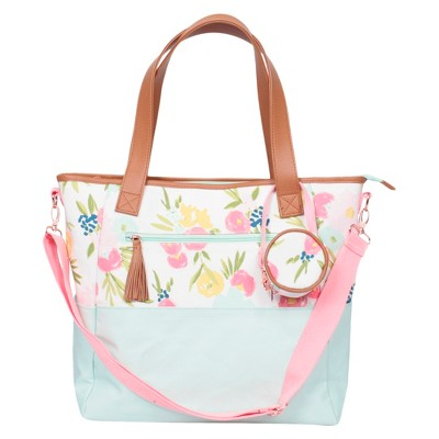 Floral Tote Diaper Bag - Cloud Island™