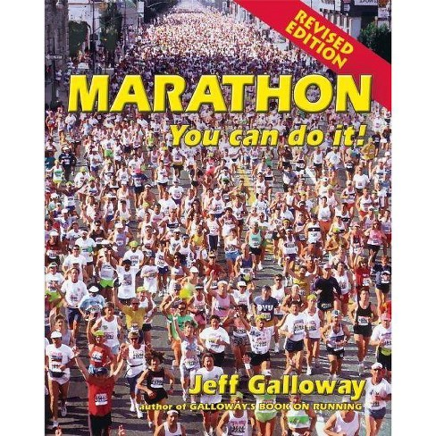 Marathon - by  Jeff Galloway (Paperback) - image 1 of 1