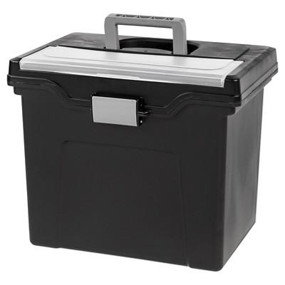IRIS Portable File Storage Box