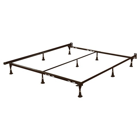 Metal Bed Frame Brown - Room Essentials™ : Target