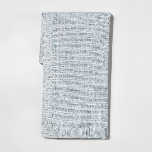 Sweater Knit Throw Pillow Blanket - Threshold™ - image 1 of 2