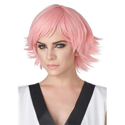 California Costumes Feathered Cosplay Adult Wig (Rose Pink)