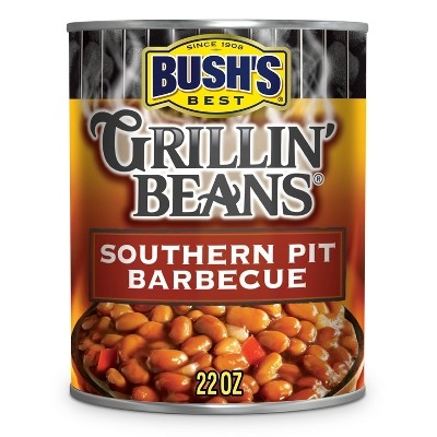 Bush's Gluten Free and Vegetarian Southern Pit Barbecue Grillin' Beans - 22oz
