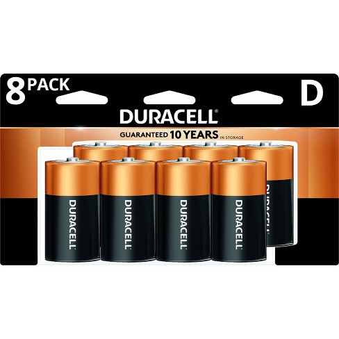 Duracell Coppertop D Batteries - 8 Pack Alkaline Battery - image 1 of 4