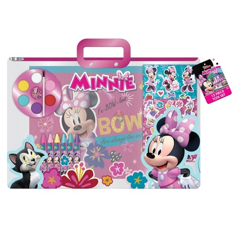 Disney Minnie Mouse 12pc Stationary Tote Set - image 1 of 4
