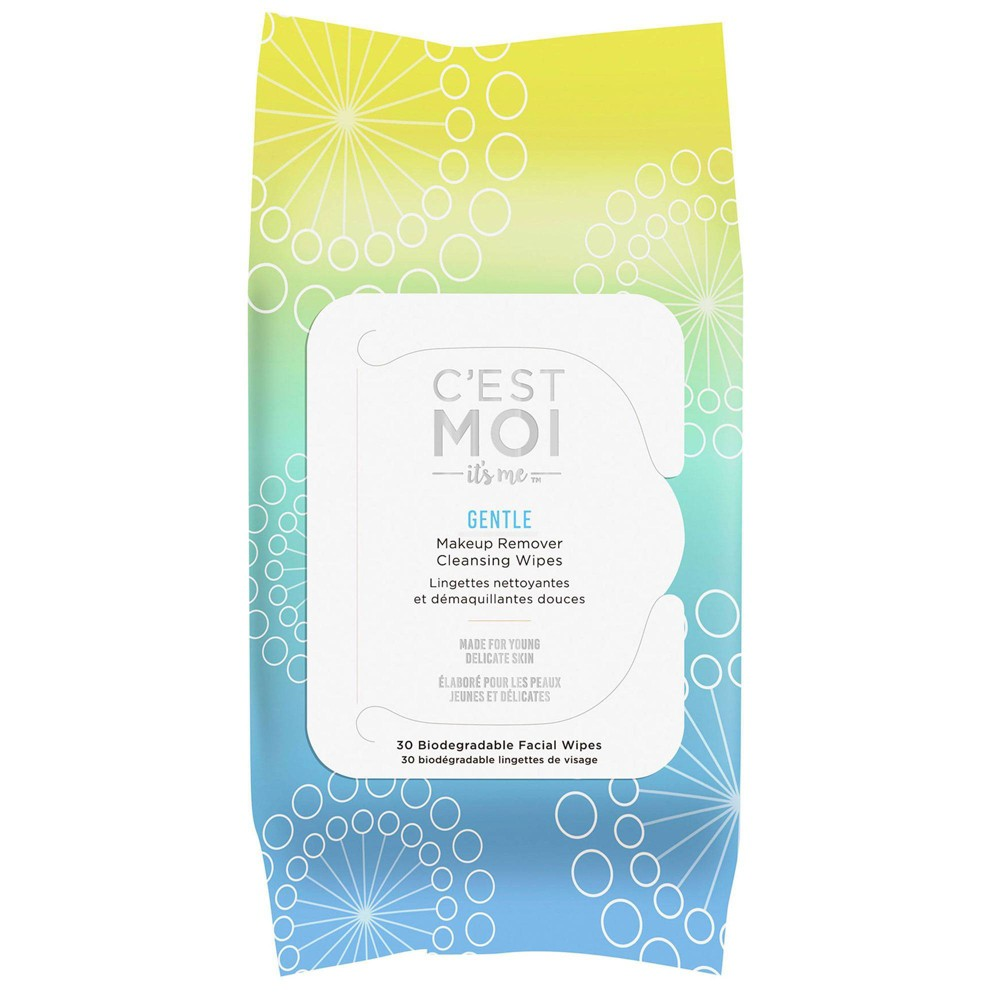 Image of C'est Moi Gentle Makeup Remover Cleansing Wipes - 30ct