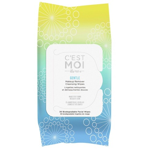 C'est Moi Gentle Makeup Remover Cleansing Wipes - 30ct - image 1 of 4