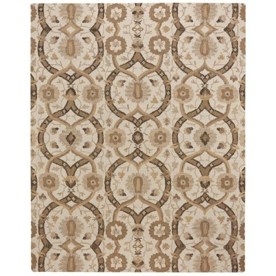 "3'6""x5'6"" Rectangle Wool Area Rug Brown - Capel"