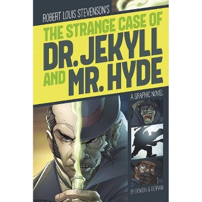The Strange Case of Dr. Jekyll and Mr. Hyde - (Graphic Revolve: Common Core Editions) by  Robert Louis Stevenson (Paperback)