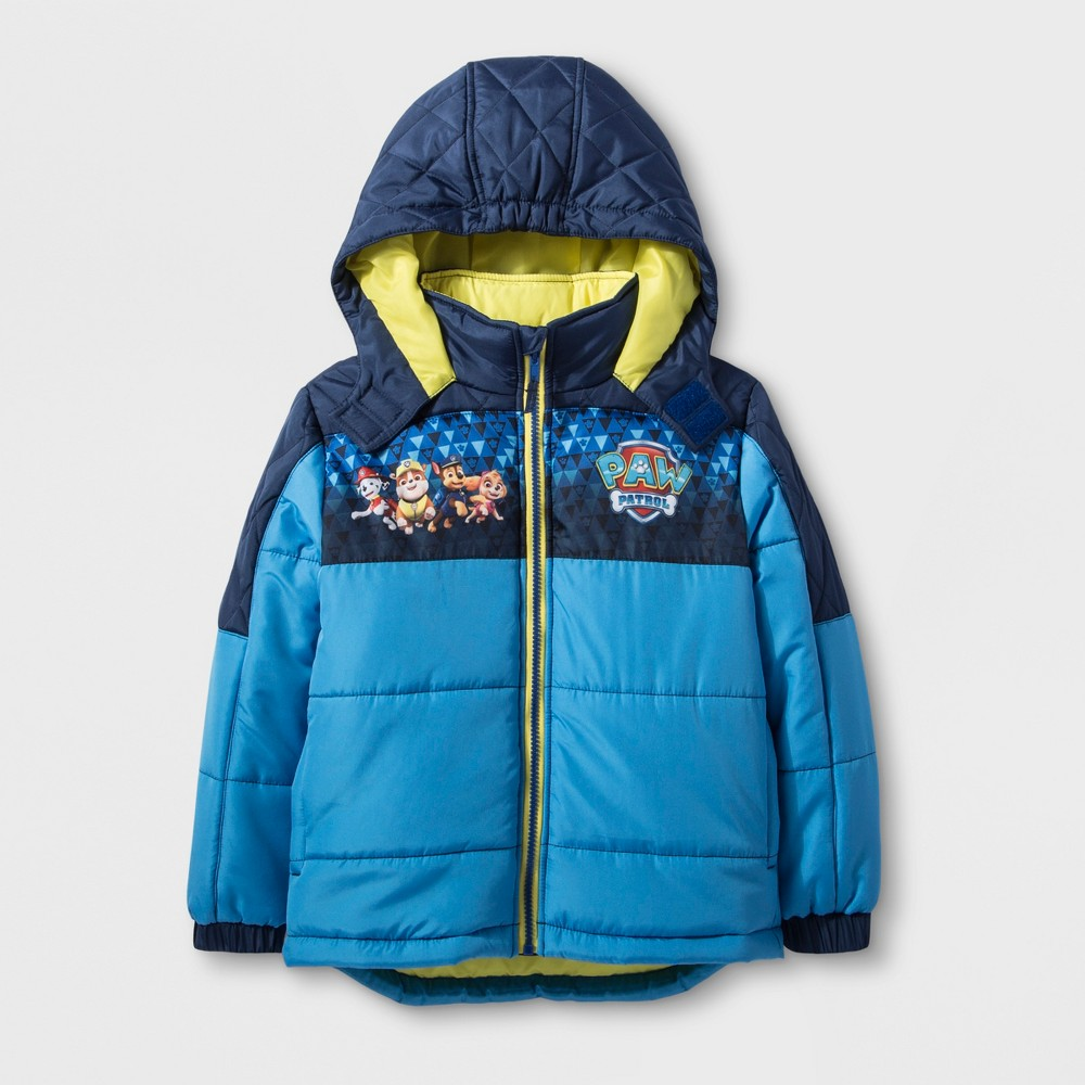 Boys' Paw Patrol Puffer Jacket - Blue 7