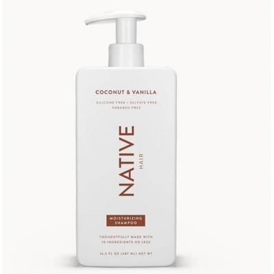 Native Coconut & Vanilla Moisturizing Shampoo - 16.5 fl oz