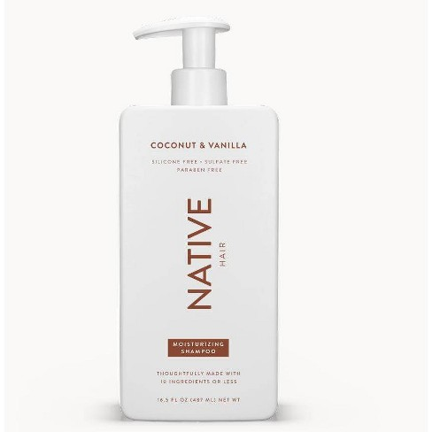 Native Coconut & Vanilla Moisturizing Shampoo - 16.5 fl oz - image 1 of 4
