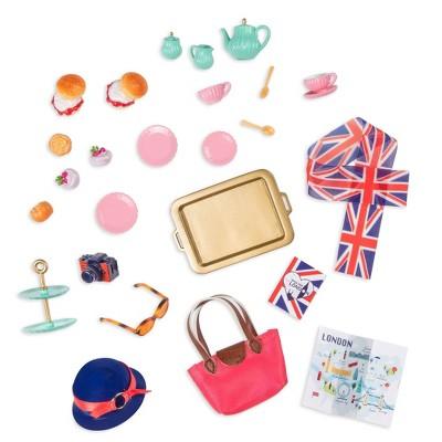 Lori Doll Mini Tea Set Accessory - Smitten in Britain