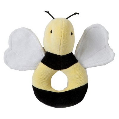 Burt's Bees Baby® Organic Cotton Bee Plush Ring Toy