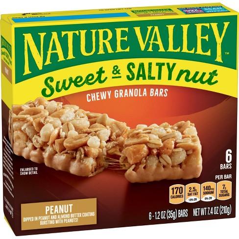 Nature Valley Sweet & Salty Nut Peanut Granola Bars - 6ct - image 1 of 3