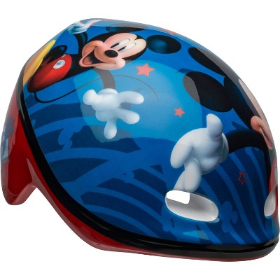 Mickey Mouse Toddler Bike Helmet - Blue
