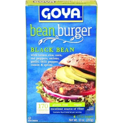 Goya Frozen Black Bean Burger - 10oz