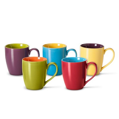 BIA Cordon Bleu Two-Toned Mugs set of 6 (15 oz)