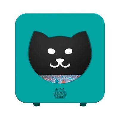 Kitty Kasas Cat Bedroom - Teal