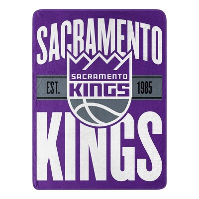 NBA Sacramento Kings Micro Throw Blanket