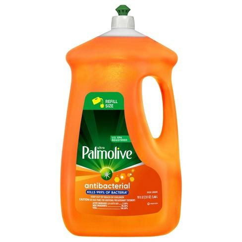 Palmolive Ultra Liquid Antibacterial Dish Soap - Orange - 90 fl oz - image 1 of 4