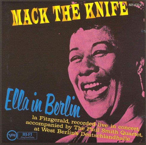 Ella fitzgerald - Mack the knife:Ella in berlin (Vinyl) - image 1 of 2