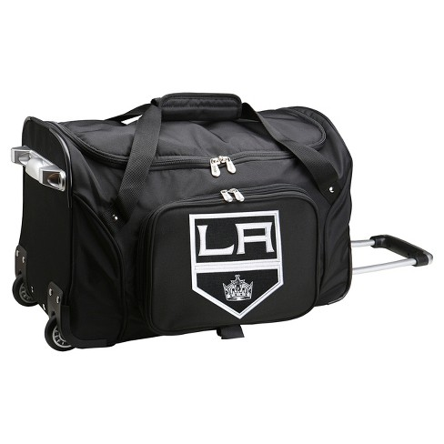 "NHL Mojo Los Angeles Kings 22"" Rolling Duffel Bag - Black - image 1 of 3"
