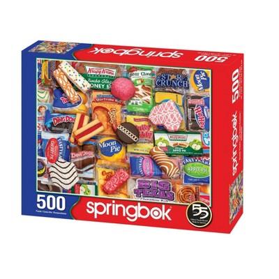 Springbok Snack Treats Puzzle 500pc
