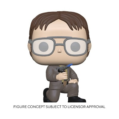 Funko POP! TV: The Office - Dwight with Blow Torch (Target Exclusive)
